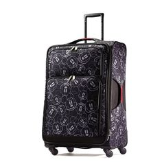 """American Tourister Disney Mickey Mouse Multi-Face Softside Spinner 28"""" Suitcase…"""