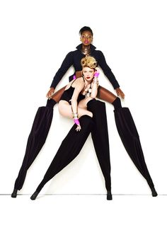 Bre and Laura, ANTM all star