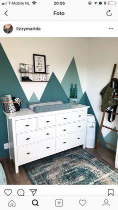 SET OF Nursery Woodland, Mountain Shelf, Geometric shelf, Floating shelf, Boy … – Colorful Baby Rooms