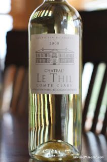 Chateau le Thil Comte Clary Blanc 2008 - Delectable