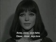 ALPHAVILLE. Jean-Luc Godard. Anna Karina. 1965.