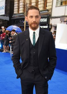 Legend | World Premiere (Arrivals) England - September 3, 2015. Tom attend the UK Premiere of 'Legend' at Odeon Leicester Square.