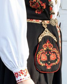 Norway, Textiles, Costumes, Jewellery, Embroidery, Boho, Places, Fashion, Moda