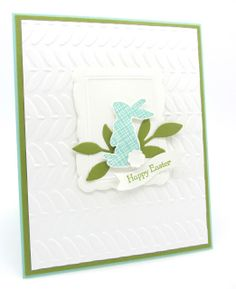 Ears to You -- PinkBlingCrafter: Stampin' Up!'s Single Stamp and a Easter Card
