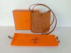 Hermes Auth Evelyn Tpm –�i (2005 Made) With Dustbag And Box Hobo Bag $2,010