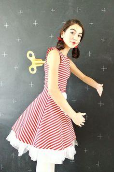 DIY Wind-Up Doll Costume | Clover and Dot | Bloglovin'