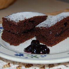 Kefires-bögrés kakaósan Recept képpel - Mindmegette.hu - Receptek Pie, Sweets, Baking, Desserts, Recipes, Foods, Drink, Beauty, Sheet Cakes