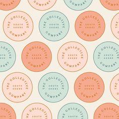 A design studio creating modern, artful branding for lifestyle brands. Food Logo Design, Logo Food, Brand Identity Design, Graphic Design Branding, Label Design, Minimal Logo Design, Food Branding, Logo Sticker, Sticker Design