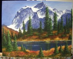 1000 Images About Mountain Paintings On Pinterest