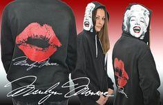 Marilyn Monroe Clothing  Signature Hoodie Hooded by Whoodie, $39.99