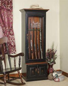 Amish Gun Cabinet