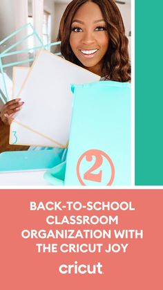 Educator and influencer Patrice Jenkins loves using her Cricut Joy machine for classroom organization and labeling projects. Learn how she transforms simple vinyl materials into classroom DIYs on our blog! School Classroom, Classroom Themes, Classroom Organization, Book Bins, Educational Crafts, School Items, Back To School Supplies, School Shopping, New School Year
