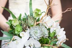 Floral Verde LLC-woodland and succulents