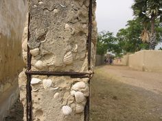 Specific Saloum Villages Architecture Of Walls Buit With Shells - Mar Lodj, Senegal by whl.travel, via Flickr