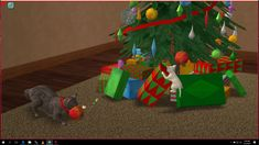 Mod The Sims - Christmas Ornament Toys for Cats