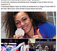 Anne-Caroline+Graffe+sur+les+banc+des+jeux+olympiques+à+Rio