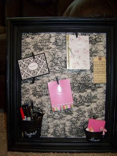 SkyBluPink Creations: Decorated Board