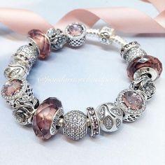 Pandora blush stones