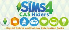 myindiesims:  Sims 4 CAS Hiders CAS hiders for all clothes, hair, accessories, makeup, shoes, and hats.   Everything is a separate package with a picture, so you can pick and choose what you want to hide.  Not Included  Alien Makeup (lost-my-plumbbob-in-your-pond​ has one here) Star Wars Costumes (can be found here on ModTheSims) Work clothes (such as the alien hunter hat or police uniform) Skin Details (like beauty marks and wrinkles), Eyebrows, Facial Hair, Tattoos, and Eye Colours (I can…