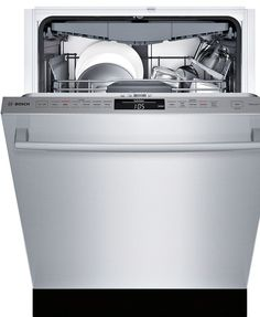 """Bosch SHX68TL5UC 24"""" 800 Series Built In Fully Integrated Dishwasher"""