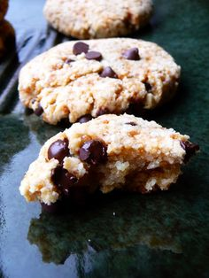 Gluten/grain/dairy/egg/soy/refined sugar free chocolate chip cookies