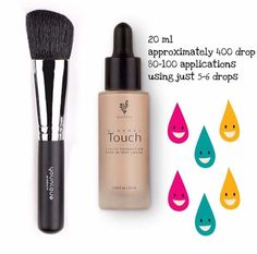Cream to powder foundation! By far the BEST foundation I have ever used!! For best application apply with a powder brush #younique #foundation #brush www.lavishlashgal.com