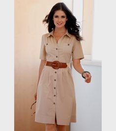 Designer Clothes, Shoes & Bags for Women Casual Wear, Casual Dresses, Short Dresses, Casual Outfits, Fashion Dresses, Safari Dress, Lovely Dresses, Work Attire, Designer Dresses