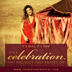 The Red Tent Revival 2015! Finally able to share with you the link to this year's Red Tent Revival! Come embrace your inner goddess as we start the Revival of the Potent Feminine!! Dance, learn, read, love yourself, love other women, become who you were meant to be! https://no122.isrefer.com/go/RTR-2015/5848/