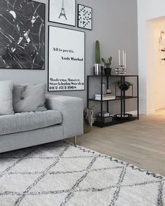 54 Ideas DIY Interior Ideas That Will Make Your Home Look Great Interior Design Boho Living Room Design DIY Great Home Ideas interior My Living Room, Living Room Interior, Home And Living, Living Room Decor, Living Spaces, Bedroom Interiors, Scandi Living Room, Grey Walls Living Room, Gray Walls