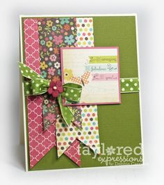 Be Amazing card by Debbie Carriere