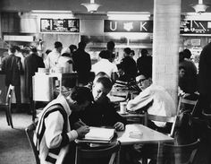 K-Lair Grill circa 1961. Photo from Explore UK.