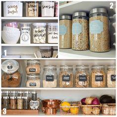 Si te gusta tener tus armarios de cocina perfectamente ordenados, no te puedes perder las etiquetas imprimibles gratuitas que dejamos hoy en el blog.
