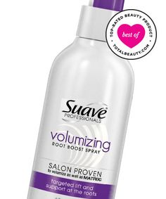 Best Volumizing Product No. 12: Suave Professionals Volumizing Root Boost Spray, $2.88