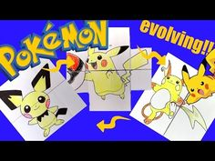 Hattifant - Pokemon Evolution - ENDLESS CARDS Papertoy TEASER - YouTube