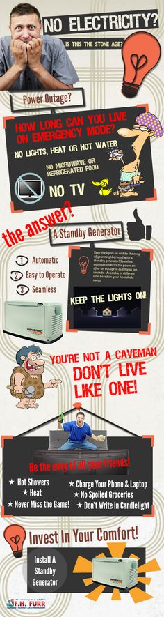 No Electricity? You're Not A Caveman, Don't Live Like One