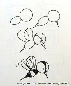 How to Draw Easy Figures | iCreativeIdeas.com Like Us on Facebook ==> https://www.facebook.com/icreativeideas