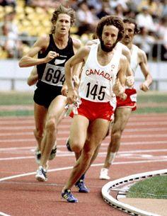 Paul Craig du Canada participe à une épreuve d'athlétisme aux Jeux olympiques de Montréal de 1976. (Photo PC/AOC)