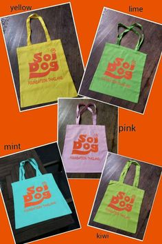 We know how to brighten up your day - with these wonderful Soi Dog tote bags! Say goodbye to plastic and go environmentally friendly. FOR ALL QUERIES and to order, please email izzy@soidog-foundation.org Available for shipping worldwide!  If you would like to see what else we have available in the gift shop, please click link below : https://www.facebook.com/media/set/?set=a.251944938283705.1073741836.239459422865590&type=3