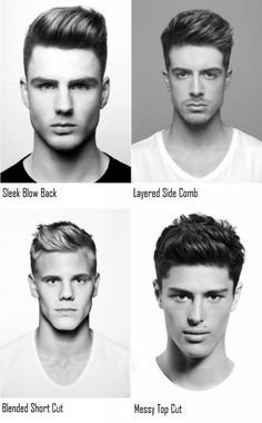 4 New Mens Hairstyles: Find the Perfect do for Your Boo | Kenra Professional Mens Hairstyle Inspiration Come visit kpopcity.net for the largest discount fashion store in the world!!