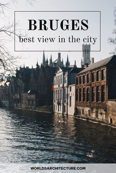 Architecture travel guide: discover the mos beautiful view of the picturesque Bruges from the Belfry Tower!