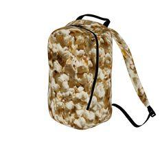 #popcorn by #cheftreejenkins #citrusreport #backpack #alloverprint @Matty Chuah Citrus Report