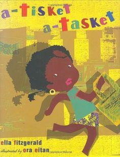 A Tisket, A Tasket by Ella Fitzgerald et al., http://www.amazon.com/dp/0399232060/ref=cm_sw_r_pi_dp_BVxCtb1Z5XJTD