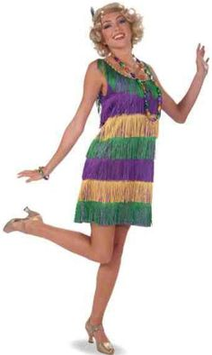People celebrate Mardi Gras, also known as Fat Tuesday, by attending parties or participating in parades wearing a Mardi Gras costume.