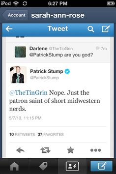Patrick Stump is adorable