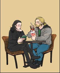Thor and loki cafè