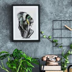 Good morning and oh happy saturday 😄 Headdress on the wall, still going strong as the nr 1 bestseller👌🏻 Style Tropical, Deco Boheme, Linked In Profile, Jolie Photo, Green Fashion, Happy Saturday, Good Morning, Gallery Wall, Green Style