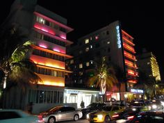 Ocean Drive, South Beach, Miami Beach, Florida - The Victor Hotel (1937) by L. Murray Dixon #architecture