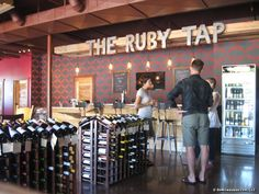 The Ruby Tap, Wauwatosa's newest bar, gives customers a new way to sample and enjoy wine. http://www.onmilwaukee.com/bars/articles/rubytap.html#
