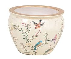 Macetero en porcelana Glamour - 38x29 cm