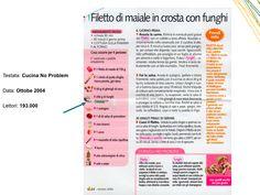 """Filetto di Maiale in crosta con Funghi - """"Cucina No Problem"""" Ottobre 2004"""